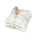 Lavendelkudde (Utgående färger) - Lavendelkudde - Säckväv Benvit/Citron linsnöre 3-pack