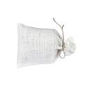 Lavendelkuddar/Lavendel bags (utgående färger/outgoing colors) - Lavendelpåse/Lavendel bag: Vit-natur linsnöre/Lavendel bag White-natural string