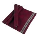 Löpare/Runner - Domino (utgående färger/outgoing colors) - Domino 46x150 cm: Röd-svart/Red-black