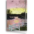 Kort/Card - Min solnedgång/My Sunset
