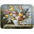 Bricka/Tray - Blomstervas/Flower vase