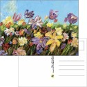 Kort/Card - Vykort/Postcards - Vykort/Postcards - Blomstertid/Flower Time