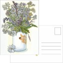 Kort/Card - Vykort/Postcards - Vykort - Midsommarbuketten