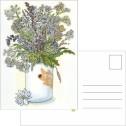 Kort/Card - Vykort/Postcards - Vykort/Postcards - Midsommarbuketten/Midsommar Bouquet