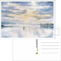 Kort/Card - Vykort/Postcards - Vykort/Postcards - Mot Öppna Vatten/Towards Open Water