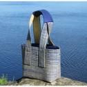 Accessoar/Accessory - Väska/Bag - Bon - Väska/Bag Bon Medium - Blå+Naturvit/Blue+Naturewhite