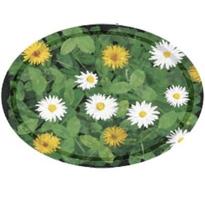 Bricka/Tray - Bland blommor och blad/Among flowers and leaves - Bricka - Bland blommor och blad/Tray - Among flowers and leaves