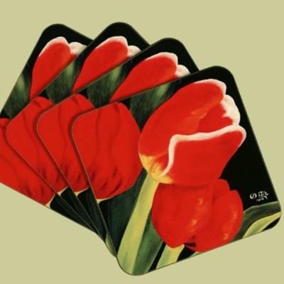 Glasunderlägg - Vårlöftet (Utgående modell) - Glasunderlägg/Coasters - Vårlöftet/Spring Promise