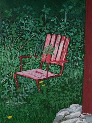 Målning/Painting: Eftermiddagsro/Afternoon Break - Eftermiddagsro/Afternoon Break