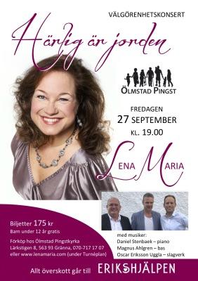 Biljett 27 sept. Pingstkyrkan, Ölmstad - Biljett 27 sept. Pingstkyrkan, Ölmstad