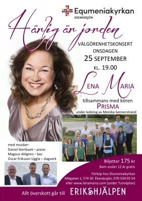Biljett 25 sept. Equmeniakyrkan, Ekenässjön - Biljett 25 sept. Equmeniakyrkan, Ekenässjön