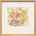 Målning/Painting: Blomsterblad/Flowerleaf