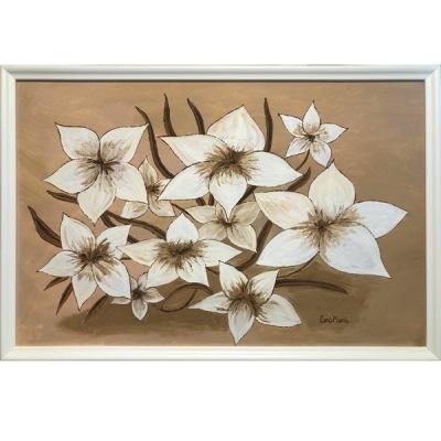 Målning/Painting: Fantasiblommor/Fantasy Flowers - Målning/Painting: Fantasiblommor/Fantasy Flowers