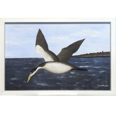 Målning/Painting: Japansk fågel/Japanese Bird - Målning/Painting: Japansk fågel/Japanese Bird