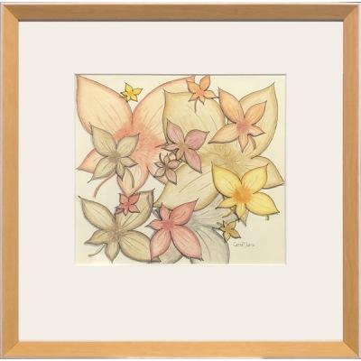 Målning/Painting: Blomsterblad/Flowerleaf - Målning/Painting: Blomsterblad/Flowerleaf