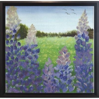 Målning/Painting: Blomsterprakt/Floral splendor - Målning/Painting: Blomsterprakt/Floral splendor