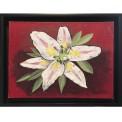 Målning/Painting: Lilja/Lily