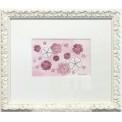 Målning/Painting: Rosa hjärtan/Pink Hearts
