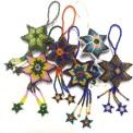 Dekoration: Stjärna av pärlor (Utgående modell)