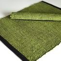 Bordstablett: Handvävd (Utgående modell) - Handvävd - Grön/Svart