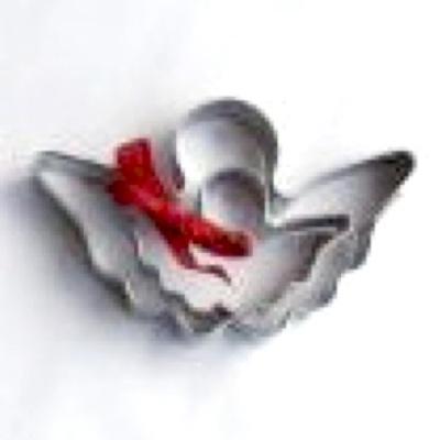 Pepparkaksformar - 2-pack Bokmärkesängel/Bookmark Angel