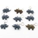 Nyckelring av pärlor - Nyckelring - Elefant