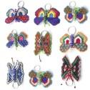 Nyckelring av pärlor - Nyckelring - Fjäril