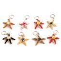 Nyckelring av pärlor - Nyckelring - Sjöstjärna