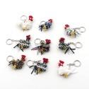 Nyckelring av pärlor - Nyckelring - Tupp