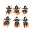 Nyckelring av pärlor - Nyckelring - Ängel Regnbåge