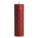 Blockljus - Crystalljus - 20 cm Crystalljus - röda
