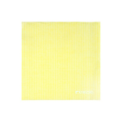 Pappersservetter med linnestruktur - Pappersservetter 40x40 cm50-pack -Citron/Vit