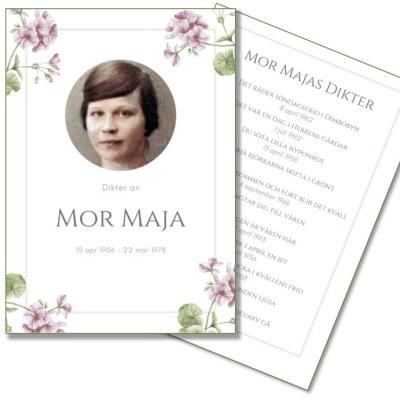 Häfte: Mor Majas dikter - Mor Majas dikter