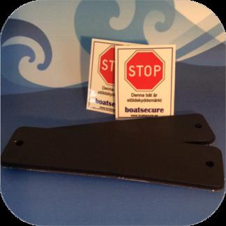 BoatSecure Dubbelt startpaket - Dubbelt startpaket svart + svart
