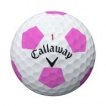 CALLAWAY CHROME SOFT  TRUVIS White Pink - Chrome Soft Truvis Dussin