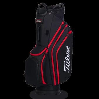 Titleist Cart 14 Lightweight - Black/ Black/ Red