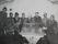 Gruvarbetarna i matsalen. Från vänster: Sven Backlund, Martin Berg, Verner Andersson, John Backlund, Arthur Nilsson, Erik Berg, Arthur Nyström och Svedjebo.
