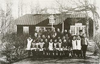 Bispbergs skola från 1928.