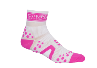 Pro Racing Sock V2 Run High - VIT/ROSA T1 (strl 34-46)