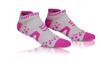 Pro Racing Socks V2 Run Low - VIT/ROSA T4 (strl 43-45)