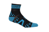 Pro Racing Sock V2 Run High - BLÅ/SVART T5 (strl 46-48)