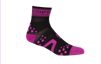 Pro Racing Sock V2 Run High - SVART/ROSA T3 (strl 40-42)
