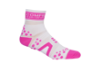 Pro Racing Sock V2 Run High - VIT/ROSA T3 (strl 40-42)
