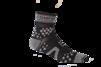 Pro Racing Sock V2 Trail - SVART/GRÅ T5 (strl 46-48)