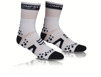 ProRacing Socks V2 Bike - VIT/SVART T5 (strl 46-48)