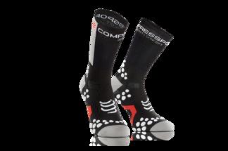 Pro Racing Socks V2.1- Bike - Svart/Vit T1 (strl 35-38)