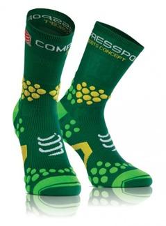 Pro Racing Socks V2.1 - Trail - Grön T1 (strl 35-38)