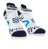Pro Racing Socks V2.1 - Run Low - Vit/Blå T2 (strl 39-41)