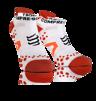 Pro Racing Socks V2.1 - Run Low - Vit/Röd T4 (strl 45-47)
