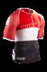 TR3 Aero Top - Ironman Stripes - RÖD - XL